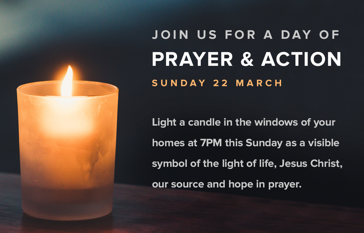 Light a candle of hope
